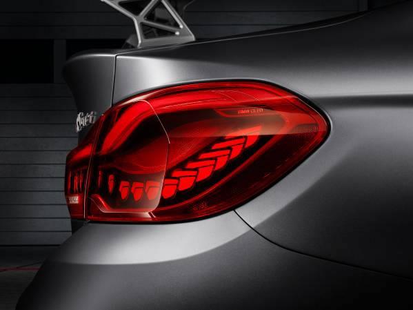 「BMW Concept M4 GTS」テールランプ画像