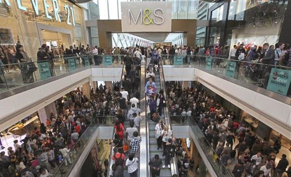 Shoppings em Londres Westfield Stratford City
