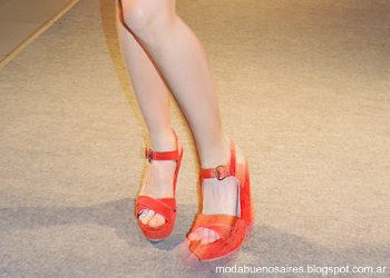 Lady Stork primavera verano 2014 sandalias.