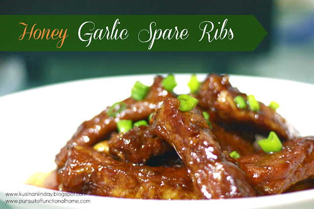 Honey Garlic Spare Ribs