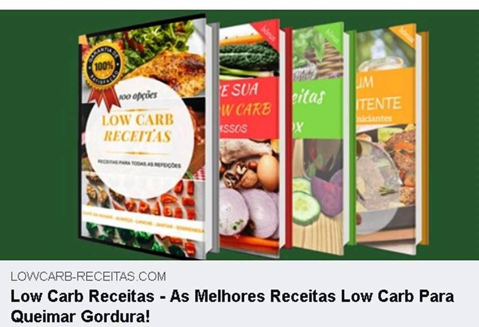 RECEITAS DE BAIXAS CALORIAS