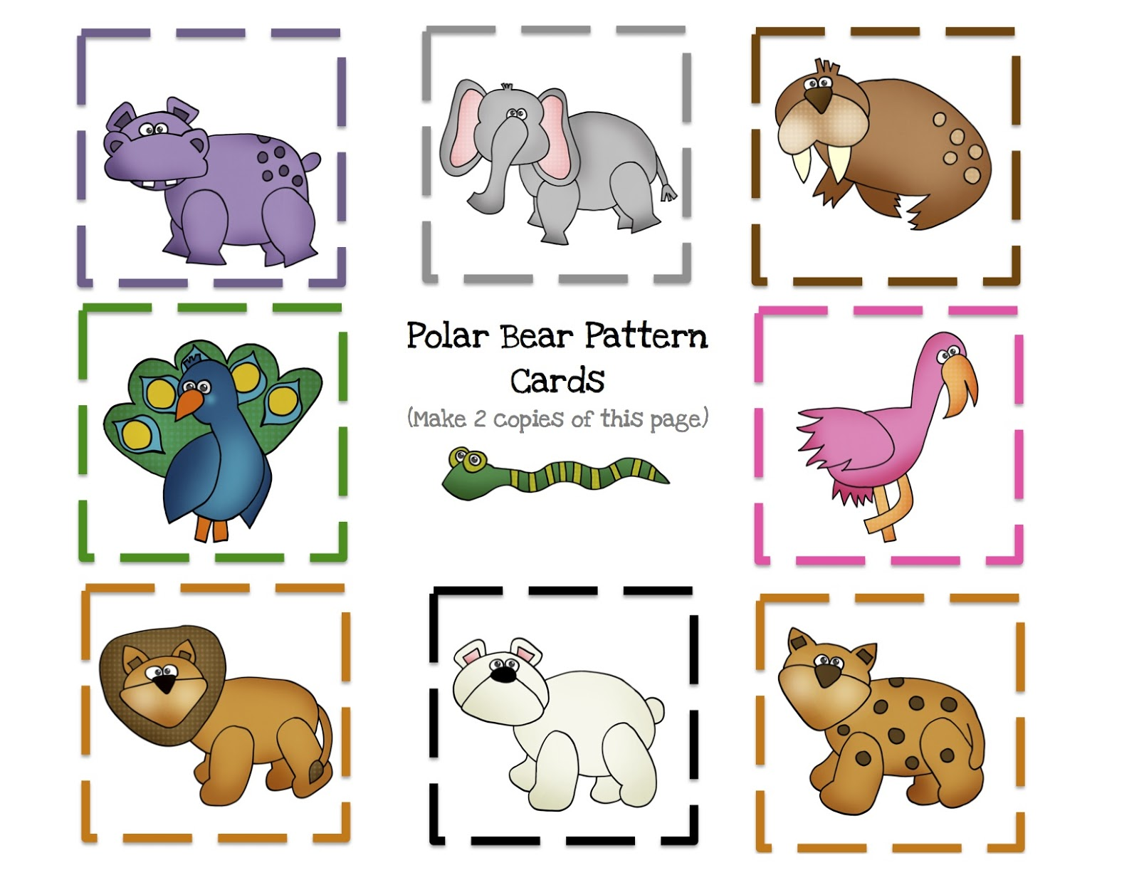 Download image Polar Bear Printable Book PC, Android, iPhone and iPad ...