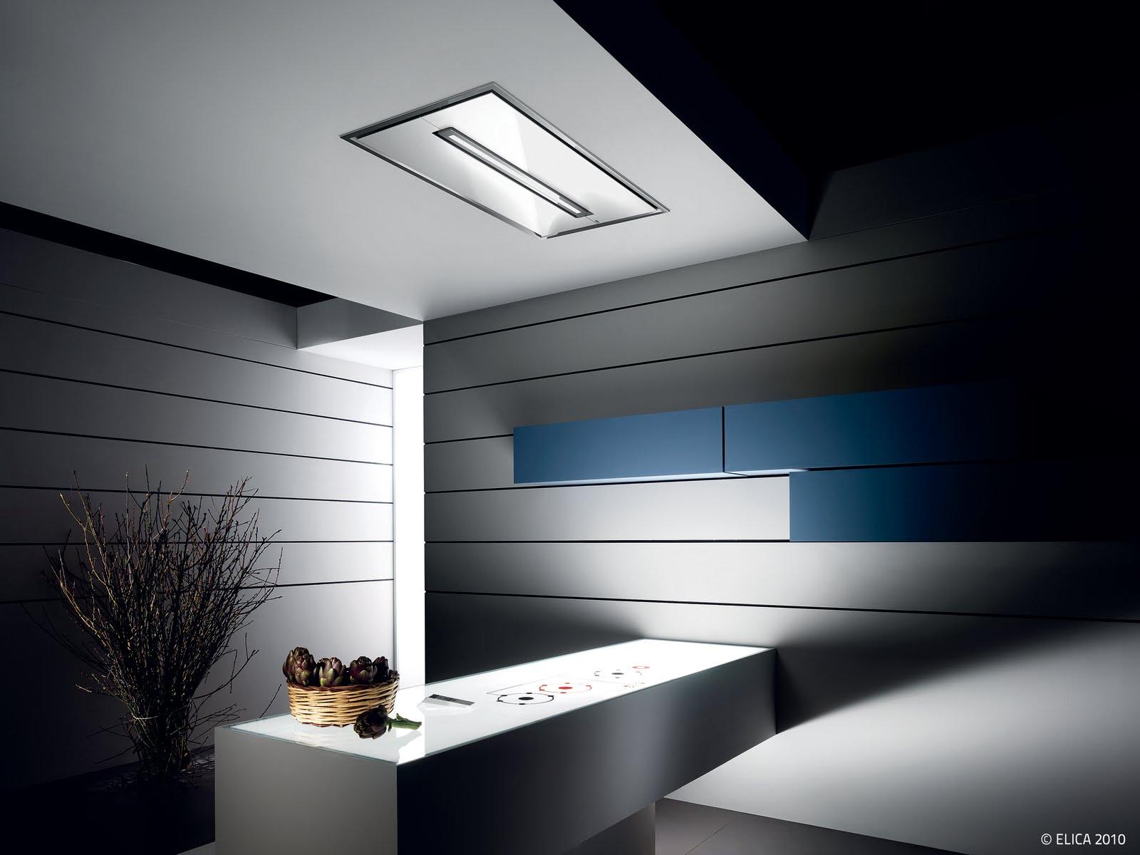 Specchio bagno stondato led for Cappa design