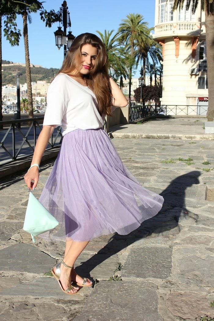 falda_midi_tul_lila_purple_skirt_look_outfit_persunmall_bolso_bag_triangulo_mint_frontrowshop_menta_angicupcakes02