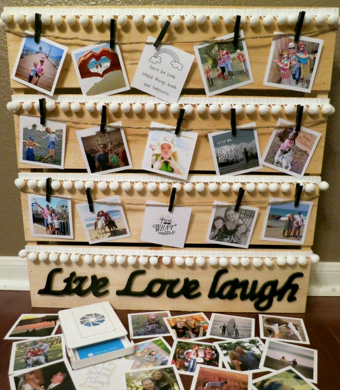 do it yourself photo display craft