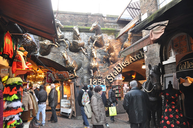 Camden Town Market stables market since 1854