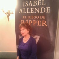 """Entrevistamos a la escritora Isabel Allende, autora de """"El Juego de Ripper"""""""