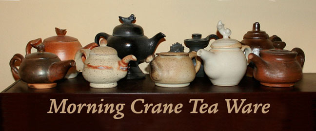 Morning Crane Tea Ware