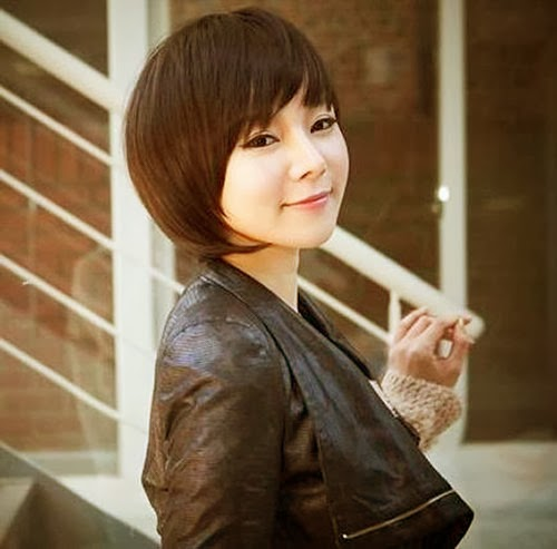 Best Short Bob Hairstyle for chinese Women