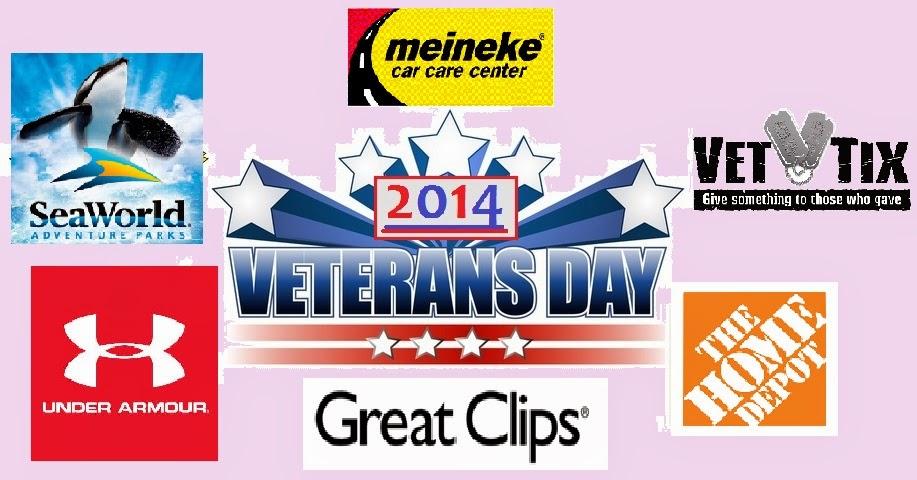 Discounts Deals 4 Military Veterans Day Discounts