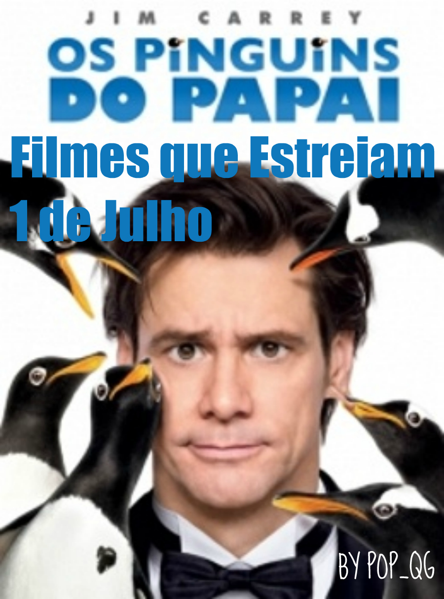 Jim Carrey Pinguins Papai Popper Penguins Que