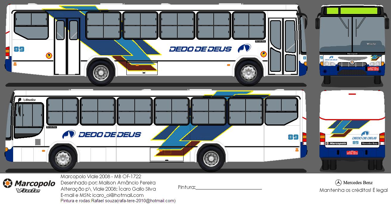 Mercedes Marco Polo 2008 >> SKIN: Mauá Leblon para Ciferal Citmax - OMSI - Simulador de Ônibus