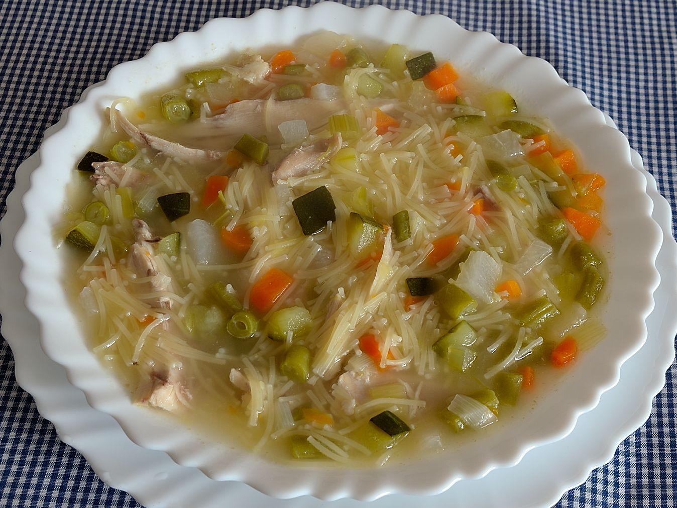 Vamos a hacer de comer sopa de colores for Que hacer para comer