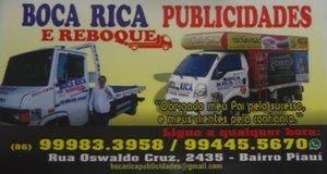Seu carro quebrou o enguiçou chame  o Reboque do Boca Rica já o melhor da cidade esse você já conhe