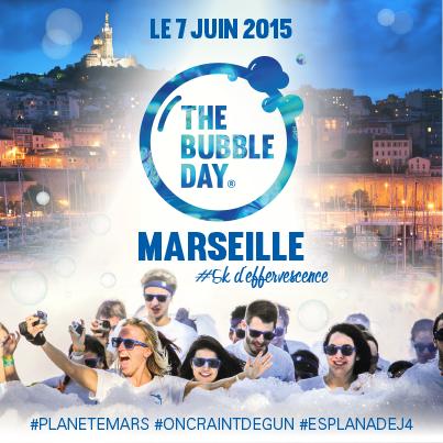 Bubble Day Marseille Photos