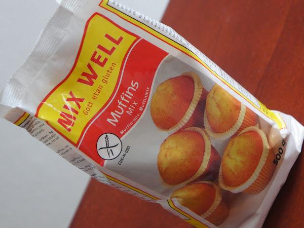 MixWell Muffinbackmischung, gluten- und laktosefrei!