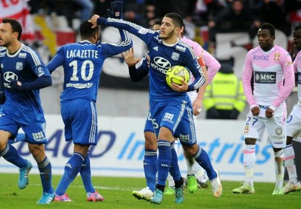 Liga Perancis : Evian 2-3 Olympique Lyon