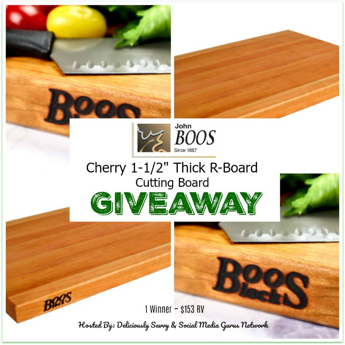 Thick R-Board Cutting Board Giveaway