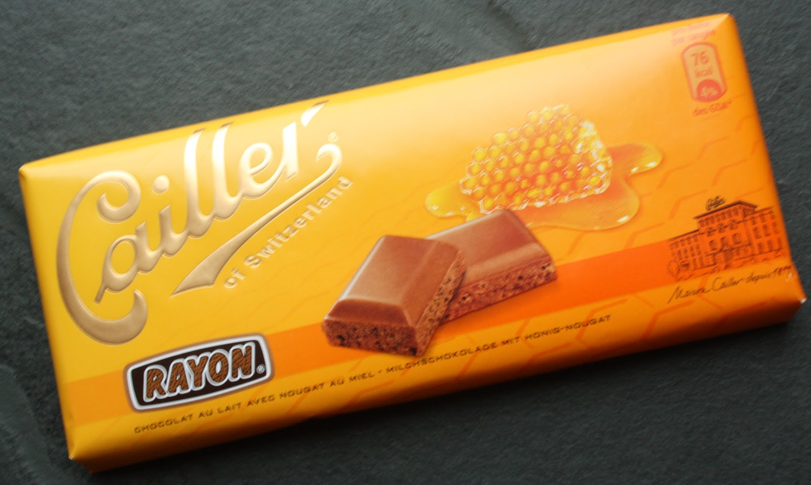 The World of Chocolate: Rayon by Cailler of Switzerland