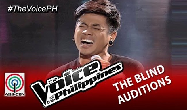 Sean Oquendo Sings 'Ako Na Lang' on The Voice of the Philippines Season 2 Blind Audition Video Replay