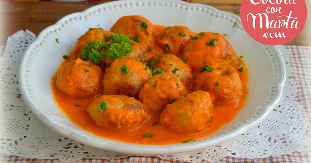 Alb ndigas en salsa espa ola en olla gm - Albondigas tradicionales ...