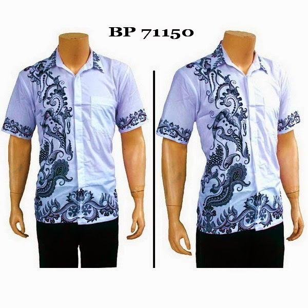 Baju Hem Batik Pria BP71150