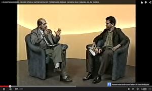 PROFESSOR RAFAEL É ENTREVISTADO POR CHICO MARIA SOBRE A OLIMPÍADA DE FÍSICA NA PARAÍBA