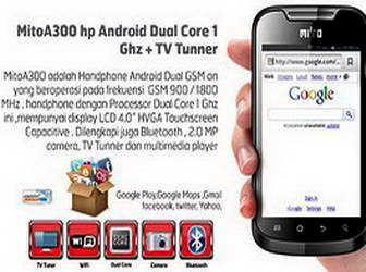 Cara restore Android Phone Tablet Mito A300 :