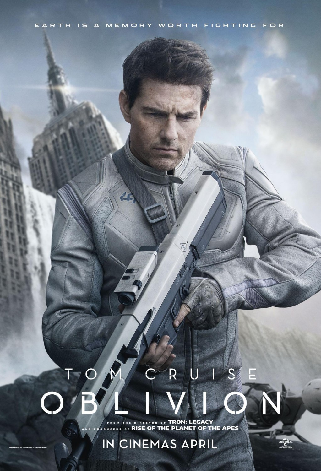 Trailer and poster of Oblivion, the upcoming science-fiction movie ...