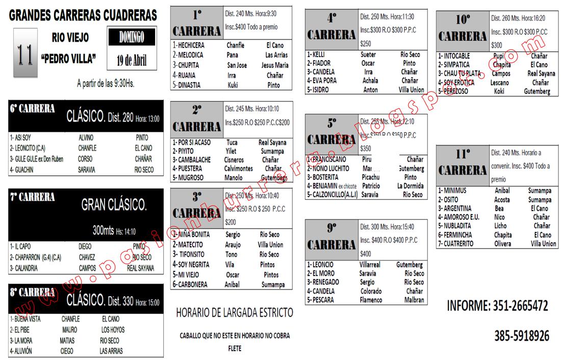 SUMAMPA - PROGRAMA
