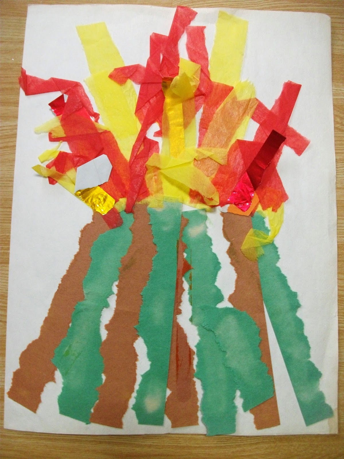 volcano crafts for preschoolers preschool crafts for paper strips volcano craft 765