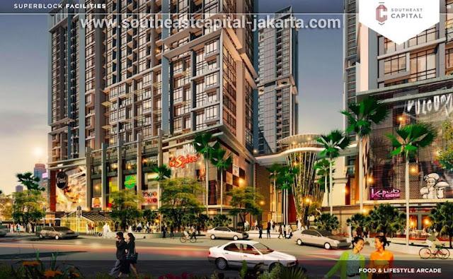 Southeast Capital Jakarta F&B Arcade