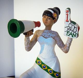 sposina sposa brasiliana statuine personalizzate orme magiche