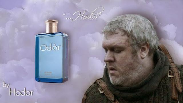 perfume hodor - Juego de Tronos en los siete reinos