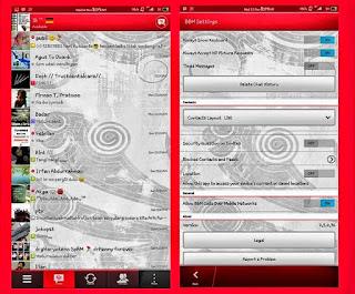 BBM Mod Versi 2.5.0.36 Terbaru
