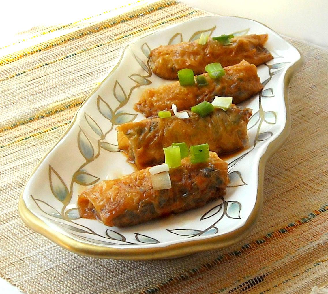 NOMz: Tofu Skin Rolls