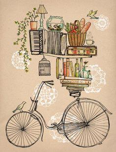 Porque minhas ideias cabem numa bike...