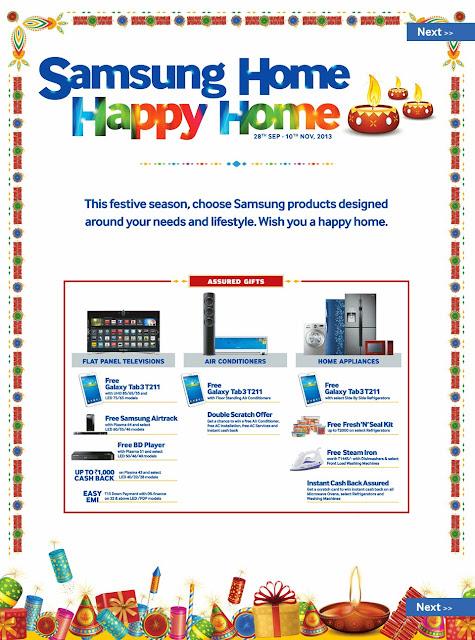 Samsung Diwali Offers 2013