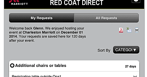 QFD Blog: Marriott Red Coat Direct