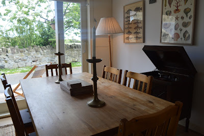Waterside view cottage dining, Alnmouth, North East Family Fun Review
