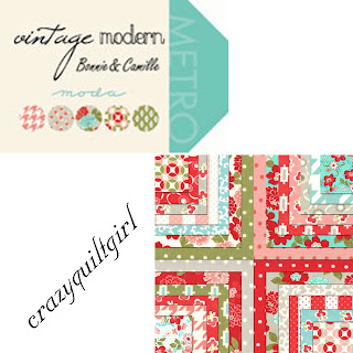 Moda VINTAGE MODERN Quilt Fabric by Bonnie & Camille