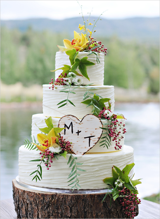6 Stunning Rustic Wedding Cake Ideas - Wedding Cakes