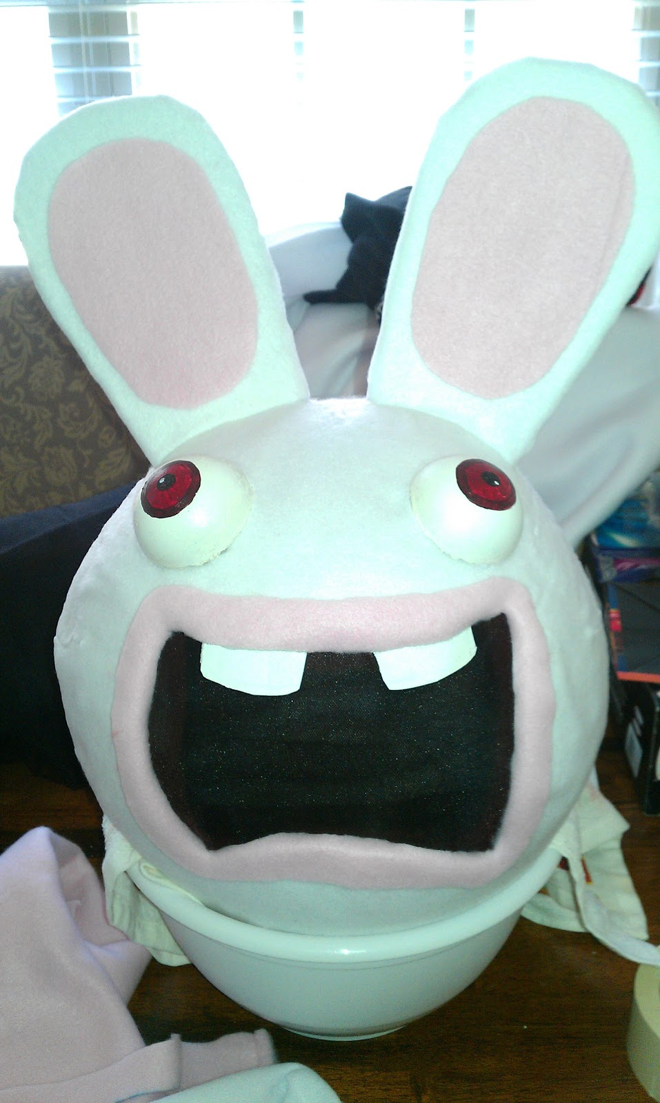 moonruffle the boychilds raving rabbid costume - Raving Rabbids Halloween Costume