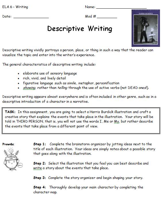 Sample Student Narrative Writing