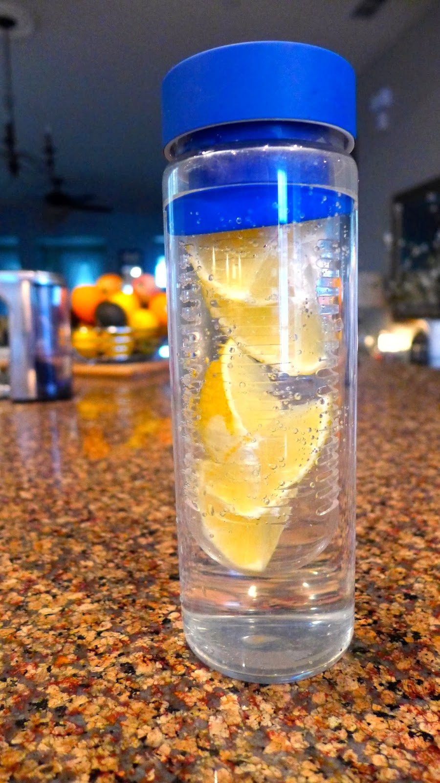 #Water bottle with fruit infuser #drink