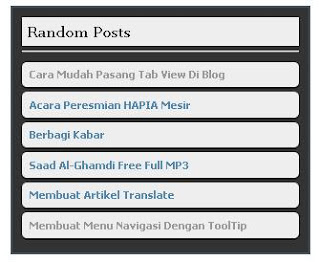 Cara Membuat Random Post Di Blog,Membuat Random Post Di Blogger,Random Post Di Blogspot
