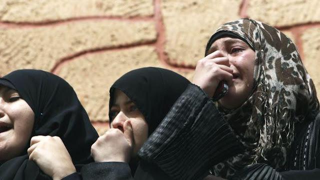 Imagens fortes-atenção- crimes de Israel - foto 11