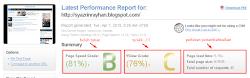 Cara cek kecepatan loading blog percuma 1