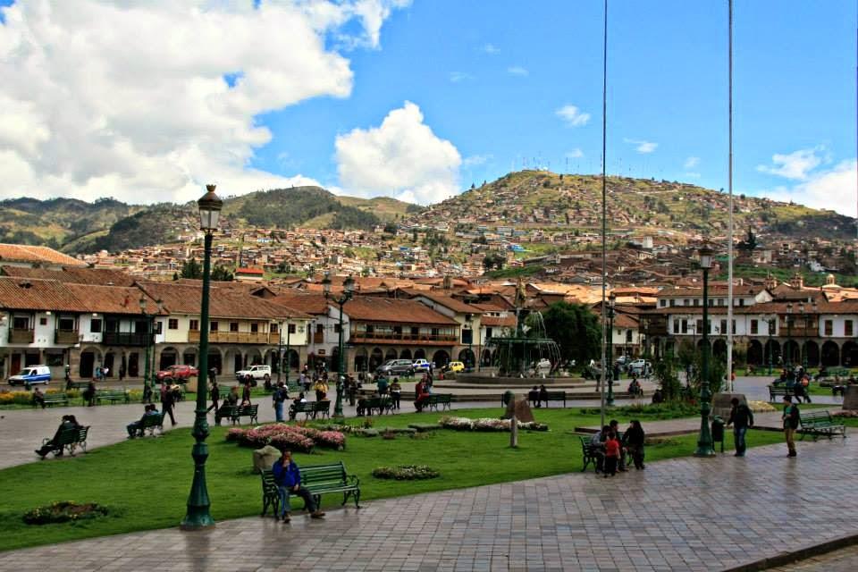 Plaza de Armas en Cusco.