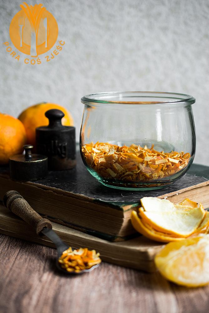 Suszona skórka pomarańczy